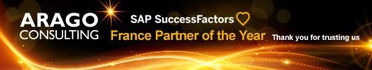 ARAGO Consulting - Partenaire de l'année SAP SuccessFactors
