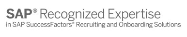 SAP Recognized Expertise SAP SuccessFactors Recruiting and Onboarding Solutions1