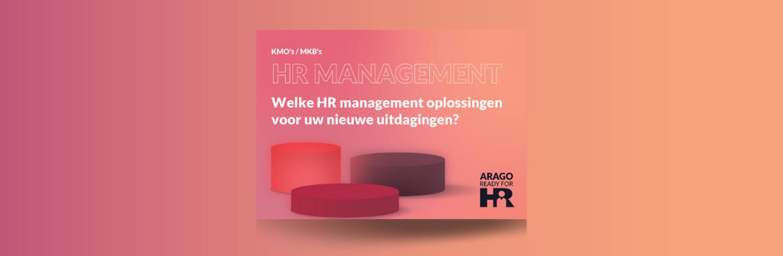 ARAGO Ready for HR<br></noscript>Welke HR management oplossingen voor uw nieuwe uitdagingen?