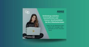 Konnektor SuccessFactors-Concur: Verbindung zwischen SuccessFactors und Concur, synchronisieren Sie Ihre Mitarbeiterdaten