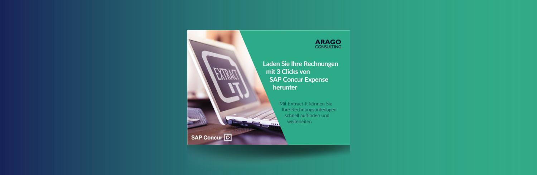 Extract-It für SAP Concur: Laden Sie Ihre Rechnungen mit 3 Clicks von SAP Concur Expense herunter