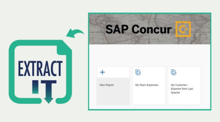 Extract-It for SAP Concur