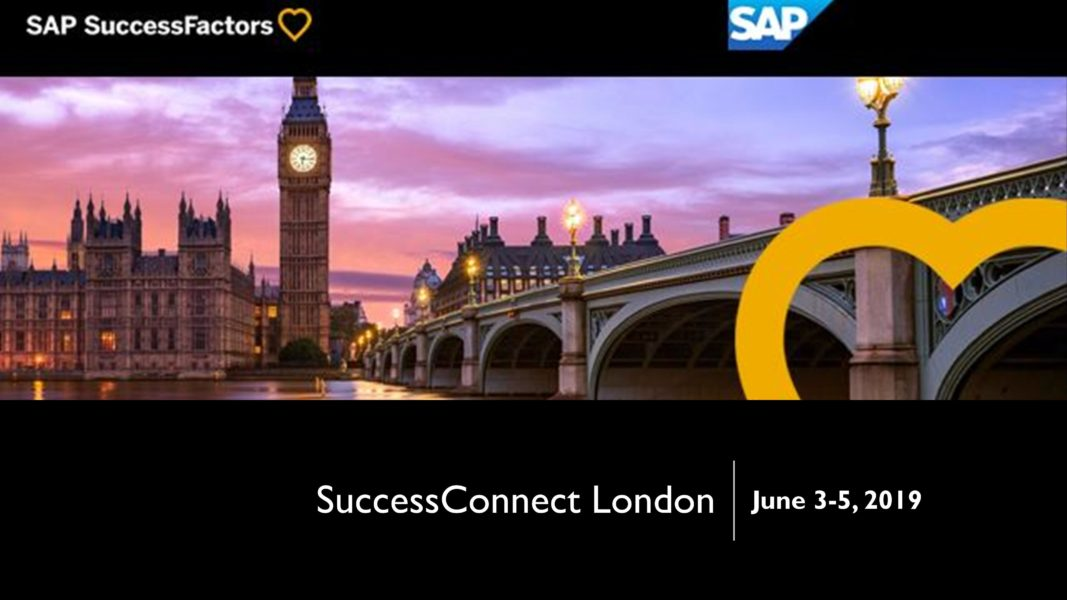 Join us at SuccessConnect London 2019! - Arago Consulting