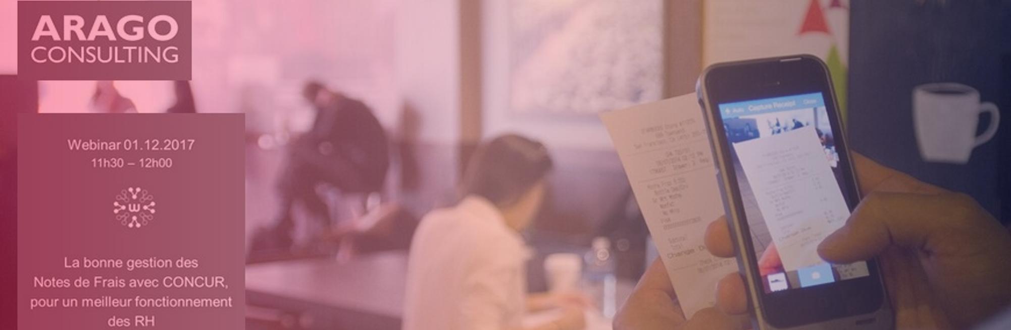 Webinar ARAGO Consulting : Gestion automatisée des notes de frais pour un meilleur fonctionnement RH
