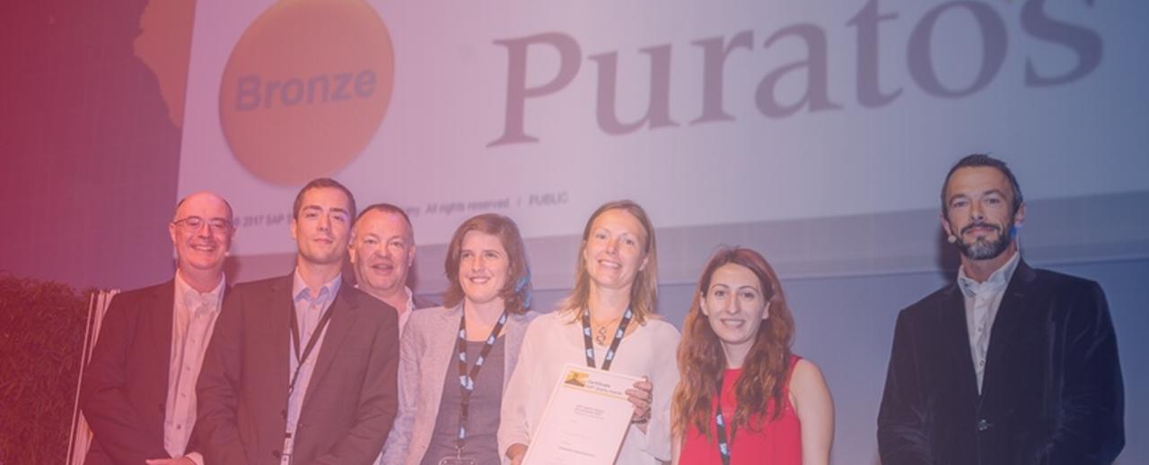 Un SAP Quality Award pour Puratos, client ARAGO Consulting !