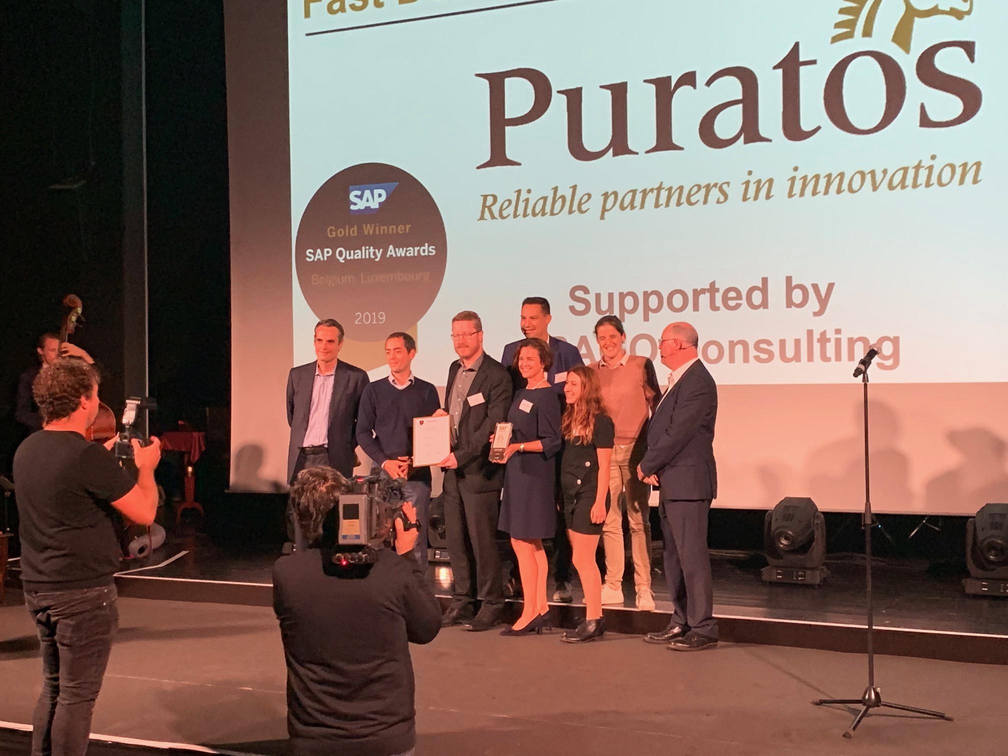 Puratos reçoit un Gold SAP Quality Awards pour la mise en place de la solution RMK