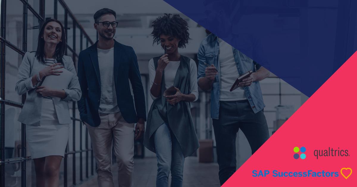 Webinar : Retours d'expérience – Mise en place d'un mécanisme de gestion de l'expérience sur SAP SuccessFactors avec Qualtrics