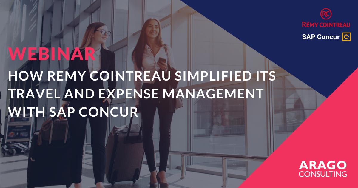Hoe Remy Cointreau zijn reis- en onkostenbeheer vereenvoudigde met SAP Concur