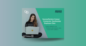 Connector SuccessFactors-Concur: Synchronise Employee Data from SAP SuccessFactors to SAP Concur