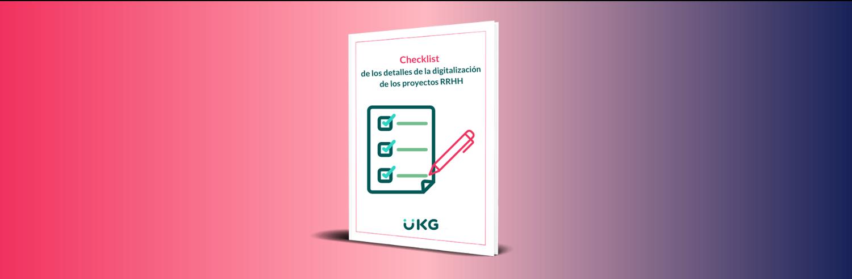 Checklist de los detalles de la digitalización de los proyectos RRHH