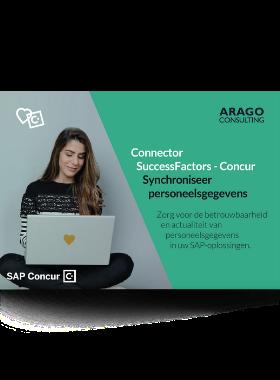 Synchroniseer personeelsgegevens van SAP SuccessFactors naar SAP Concur