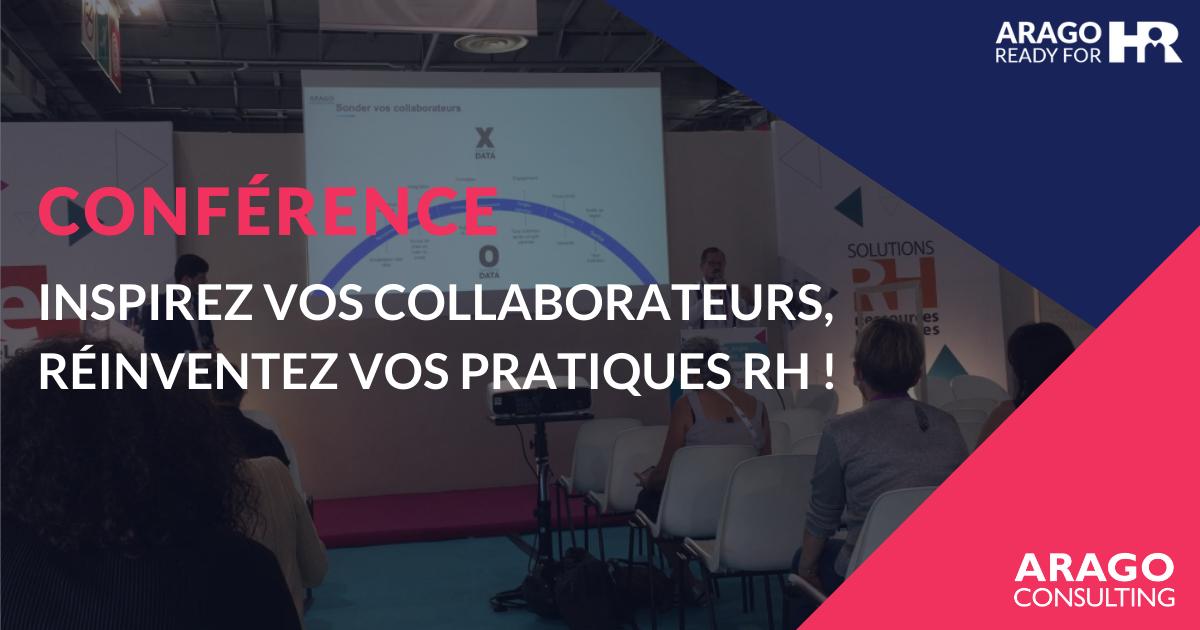 Conférence : Inspirez vos collaborateurs, réinventez vos pratiques RH !
