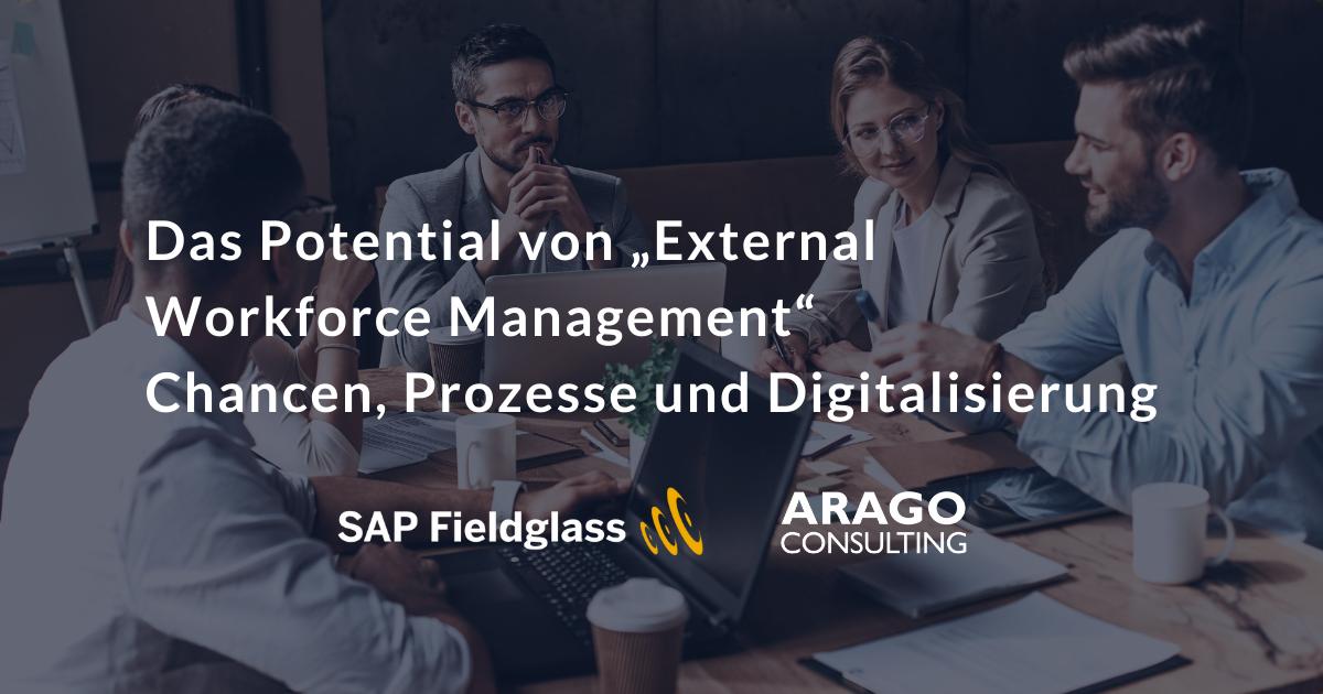 """Das Potential von """"External Workforce Management"""" Chancen, Prozesse und Digitalisierung"""